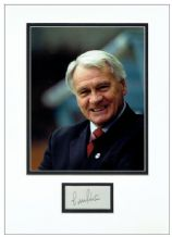 Bobby Robson Autograph Signed Display